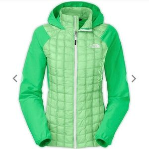 The North Face womens thermal ball hybrid jacket
